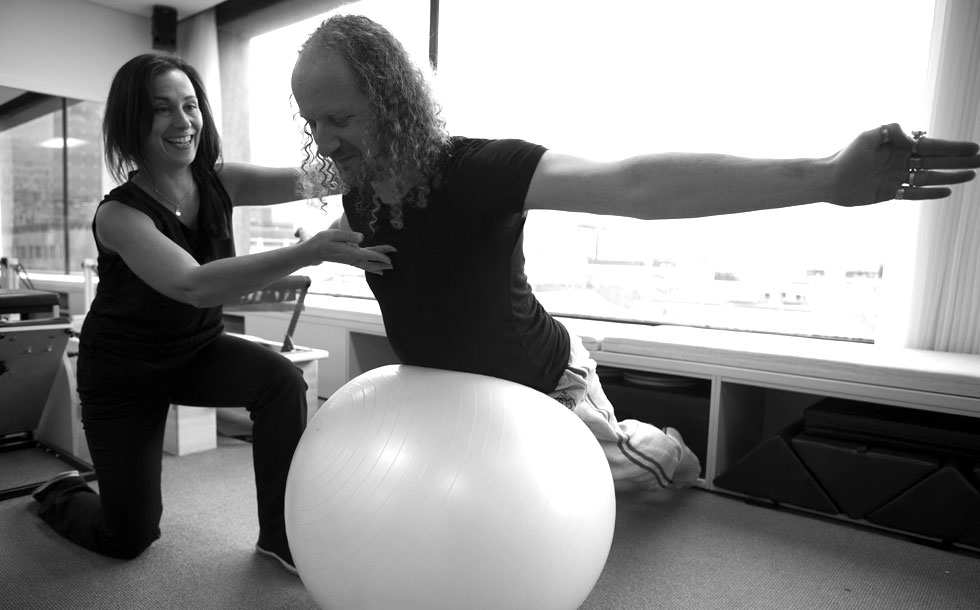 pilates exercises with ball