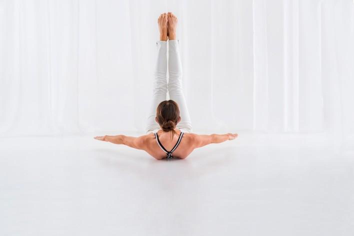 Pilates practitioner Melissa Laing